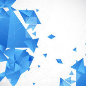 Abstract blue futuristic background — Vector de stock