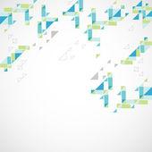 Geometrische abstracte achtergrond — Stockvector