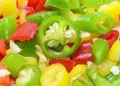 Chilli Pepper Background — Stock Photo