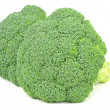 Two pieces of fresh broccoli — Stock Photo
