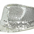 Stock Photo: Sequin party hat