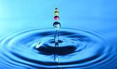 A water drop splash — Stock Photo