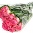 Stock Photo: Bunch of pink roses