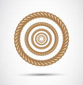 Circle rope — Stock Photo