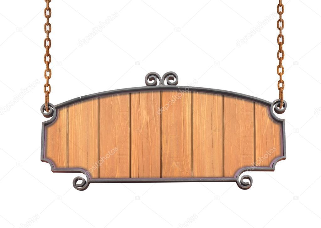 Colgante letrero de madera foto de stock 25337337 - Letreros en madera ...