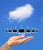 Cloude computing — Stock Photo