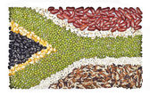 Africa flag — Stock Photo