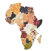 Africa food — Stock Photo