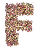 Dry animal food, — Stock Photo