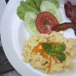 American breakfast — Stock Photo #25390189