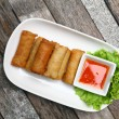 Spring rolls food — Stock Photo #25395357