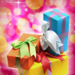 Colorful gift boxes — Stock Photo #25397773
