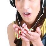 fones de ouvido — Foto Stock