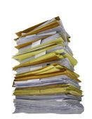 Stack of papers — Photo