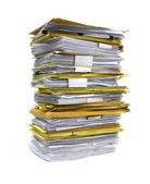 Pilha de papéis — Foto Stock