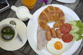 американский завтрак — Стоковое фото