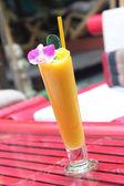 Orange fruit juice — Stock Photo