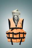 Bezpečnostní dolarů — Stock fotografie