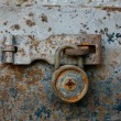 Antique key lock — Stock Photo #25400445