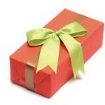 Orange gift boxs — Stock Photo #25400473
