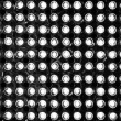 Led pattern — Foto Stock