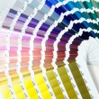 Pantone sample color — Stock Photo