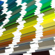 Stock Photo: Pantone sampl