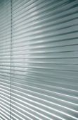 Aluminium Shutter Blind — Stock Photo