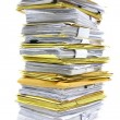 Stack of papers — Stock Photo #25998705