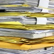Stack of papers — Stock Photo #25998763