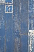 Grunge azul de madera — Foto de Stock