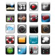 Vector de stock : App icons