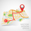 Pin gps — Stock Vector #29293131
