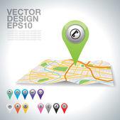 Teléfono — Vector de stock