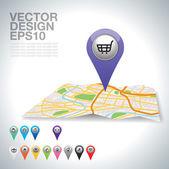 Nakupování — Stock vektor