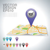 Shopping — Vecteur