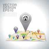 Casa — Vector de stock