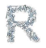 R alphabet — Stock Photo