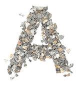 A alphabet — Stock Photo