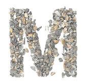 M alphabet — Stock Photo