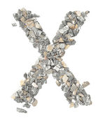 X alphabet — Stock Photo