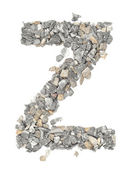Z alphabet — Stock Photo