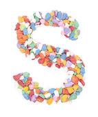S alphabet — Stock Photo