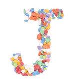 J number — Stock Photo