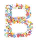 B number — Stock Photo