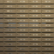 Wooden locker — Stock Photo