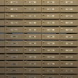Stock Photo: Wooden locker