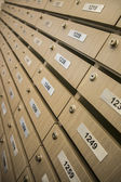 Wooden locker — Stock Photo