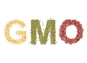 Gmo foods — Stock Photo