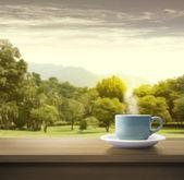 утро — Стоковое фото